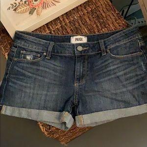 Like new Paige denim shorts